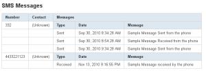 SMS B&R Insertar filas
